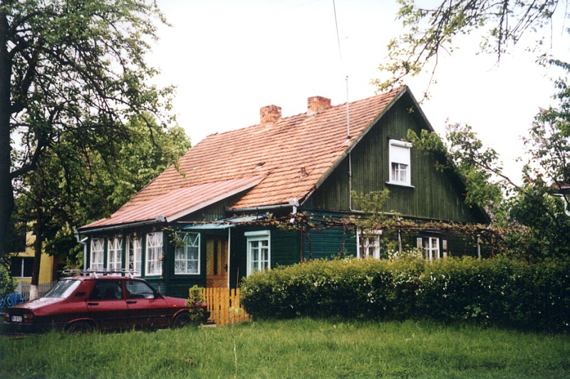 Wooden manor houses